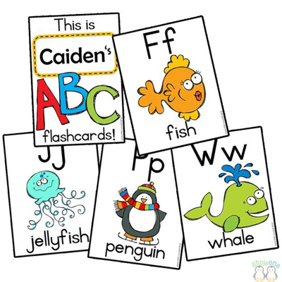 Picture of Flashcards - Alphabet A-Z
