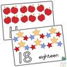 Picture of Pom-Pom Mats - Count Numbers 1-30