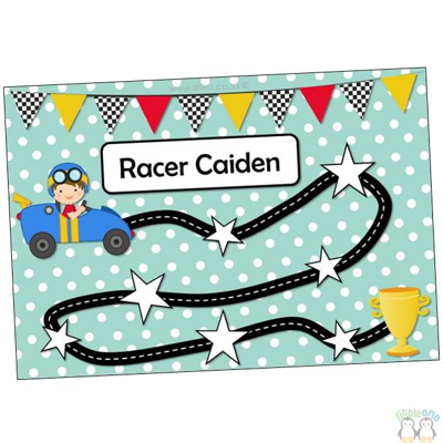 Picture of Reward Chart for Boys / Racers