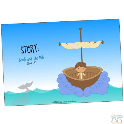 Picture of Story Props: Jonah and the fish