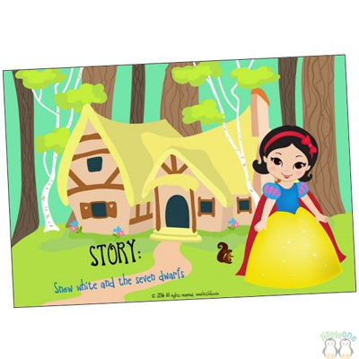 Picture of Story Props: Snow white and the seven dwarfs