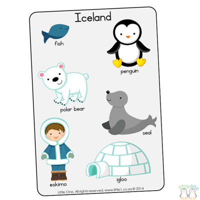 Picture of Theme Wall Chart - Iceland