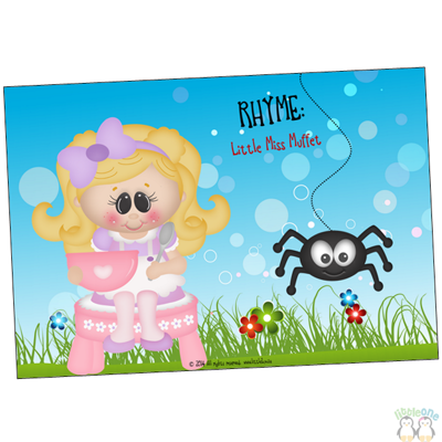 Picture of Rhyme Props: Little Miss Muffet