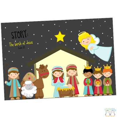 Picture of Story Props: The birth of Jesus