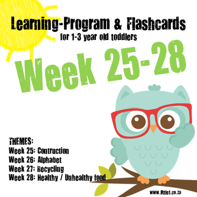Picture of Learning Program & Flashcards Week 25-28