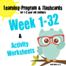 Picture of Learning Program & Flashcards Week 1-32 + Activity Worksheets