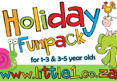 Picture of Holiday Funpack #1 for 1-3 & 3-5 year olds {ELECTRONIC}