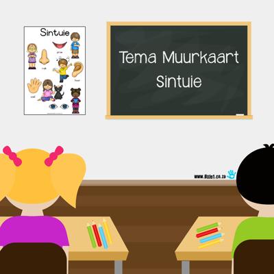 Picture of Tema Muurkaart {Sintuie}