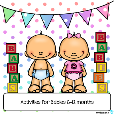 Picture of Activities & Messy Play Recipes for Babies 6-12 months