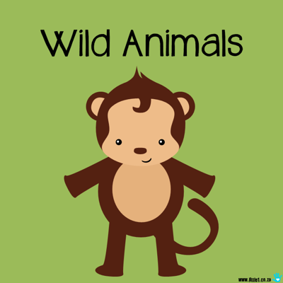Picture of Theme Activity Book (1) - Wild Animals
