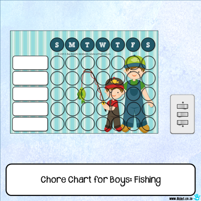 Picture of Chore Chart - Fishing