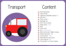 Picture of Theme Activity Book (2) - Transport
