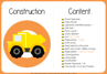 Picture of Theme Activity Book (12) - Construction