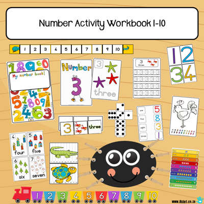 Picture of Workbook - Numbers {1-10}