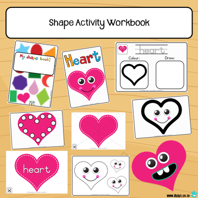 Picture of Workbook - Shapes {8x}
