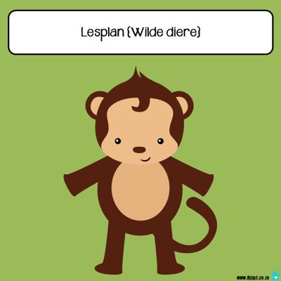 Picture of Tema Lesplan & Aktiwiteite - Wilde diere (1)