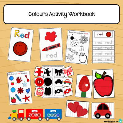 Picture of Workbook - Colours {7x}