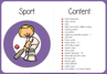 Picture of Theme Activity Book (18) - Sport