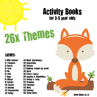 Picture of Theme Activity Books (1-26) for 3-5 Year Olds