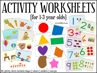 Picture of Learning Program & Flashcards Week 1-32 + Activity Worksheets + Songs & Rhymes