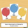 Picture of Flitskaarte & Muurkaarte {Kleure} Gekleurde Ballonne