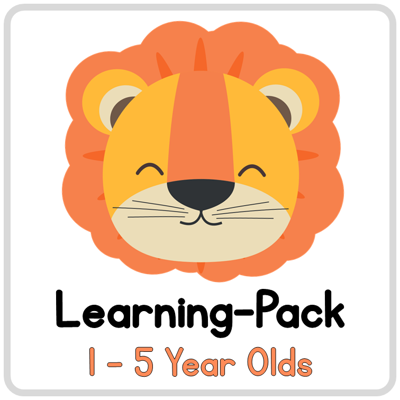 Picture of Learning Pack for 1-5 year olds