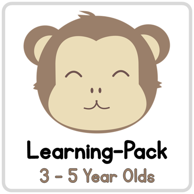 Picture of Learning Pack for 3-5 year olds