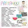 Picture of 🥰🧸15x Tema Pretpakke / Theme Fun Packs