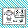 Picture of 🆕 DO & LEARN activities 👧🏼👦🏻 2-3 Year olds B&W